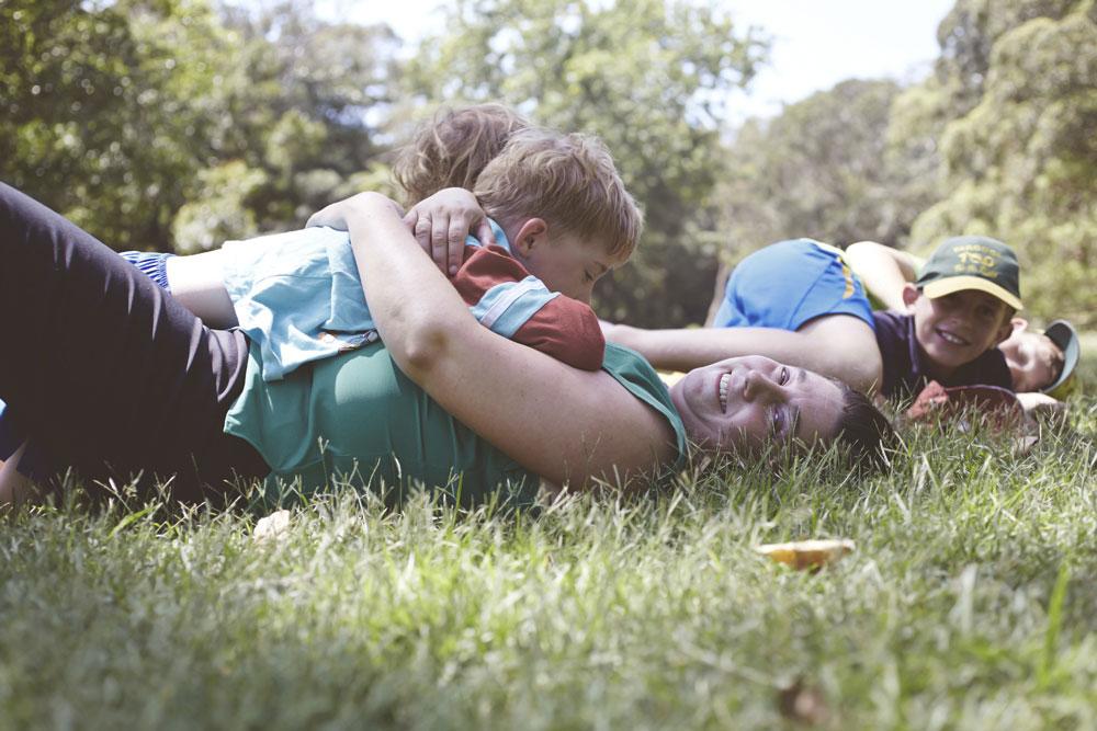 Renee Dahlia Author & kids